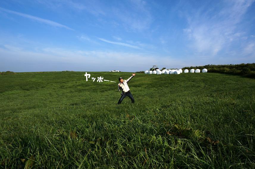 13 草原にハラグロガッパ.JPG