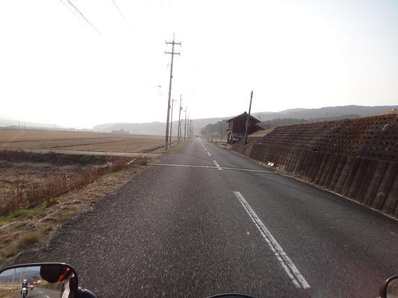 24 PM2・5で霞む夕日.JPG