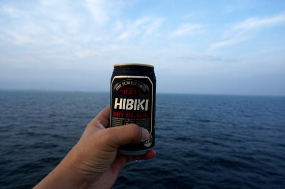 28 ブラックだけにビールも黒.JPG