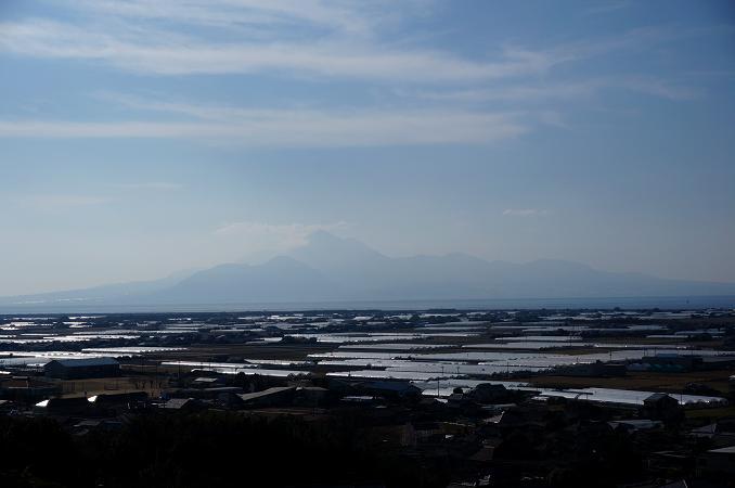 29 天水のハウスと普賢岳.JPG