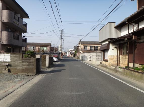 33 よく利用する久留米の裏道.JPG