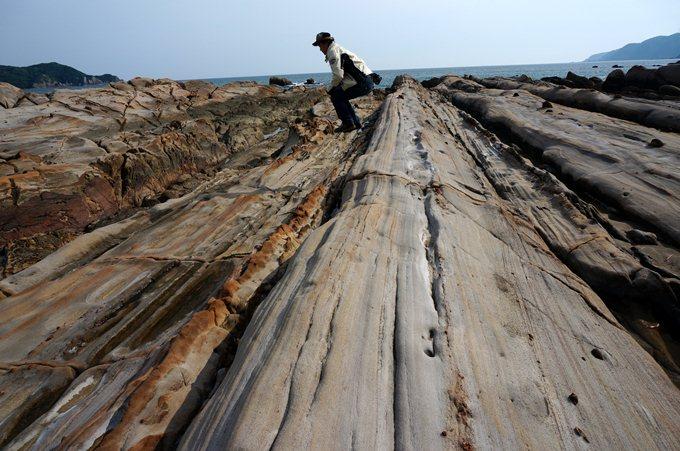 39 化石が出る海岸です.JPG