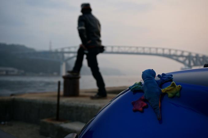 4 ステファニーと海峡を見る.JPG