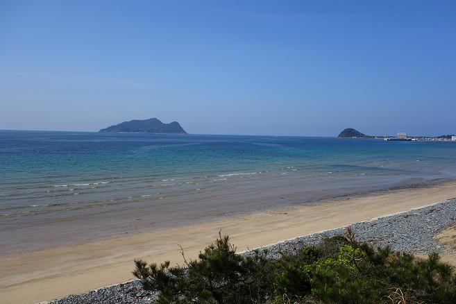 今日の海はめっちゃ穏やか.JPG