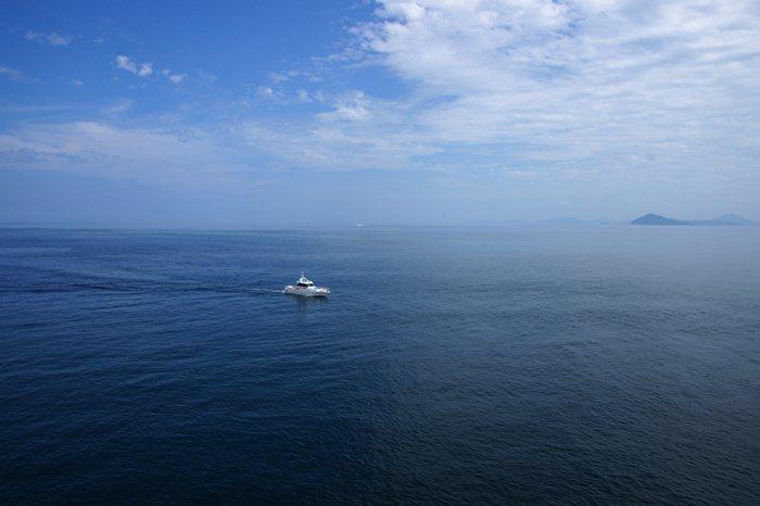 海上警察が観光に来た.JPG