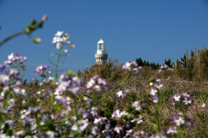 角島灯台は今日も綺麗でした.JPG