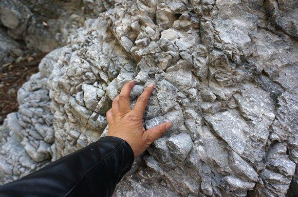 質の良さそうな石灰石.JPG