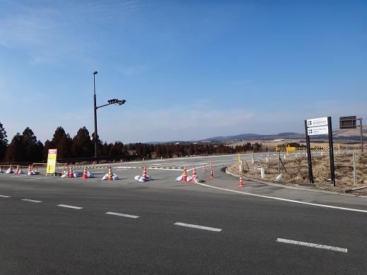 16 マゼノミステリーロードは冬季通行止めだって.JPG