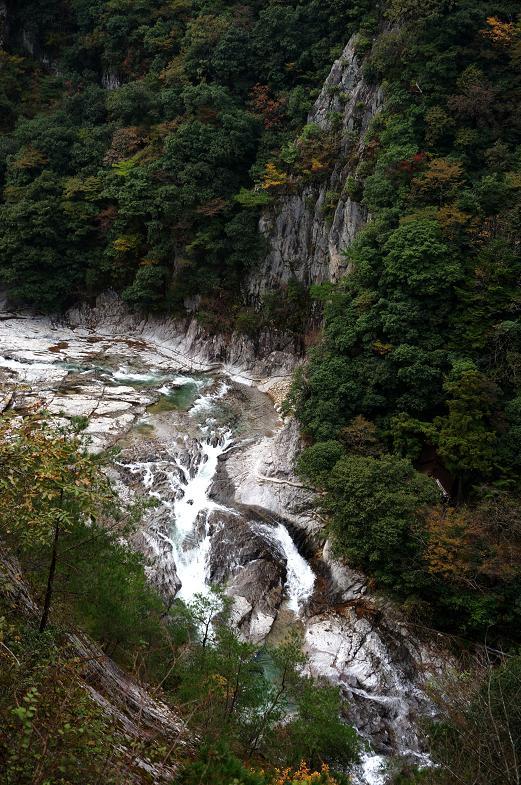 2 綺麗な渓流だけど紅葉はもうちょっと.JPG