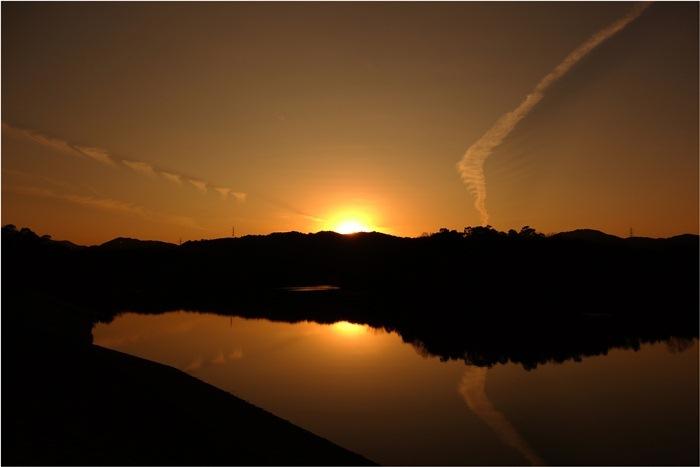 20 本庄池の夕景.JPG